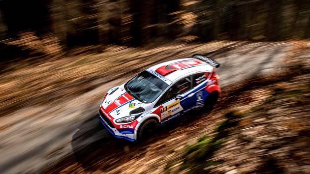 KOWAX Valašská Rally ValMez 2021. RZ Poličná. 28. března 2021.