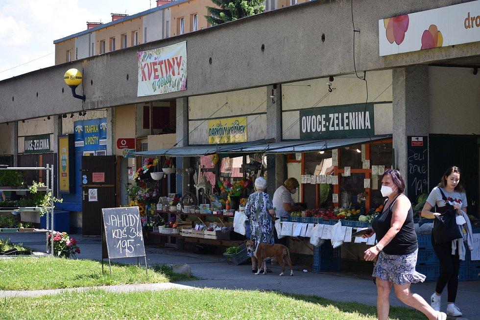 Tržnice je vyhledávaným nákupním místem.