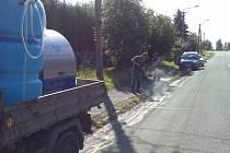 Plevel ničí horká voda. Namísto chemikálií používají ve Slezské Ostravě horkou vodu.
