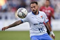 Utkání 2. kola první fotbalové ligy: FC Baník Ostrava - SK Dynamo České Budějovice, 28. srpna 2020 v Ostravě. Milan Lalkovič z Ostravy.