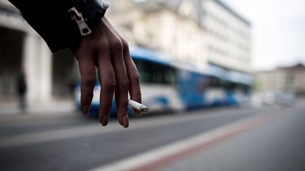 Kouření. Ilustrační snímek.