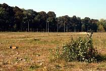 V těchto místech mají vyrůst haly průmyslové zóny Nad Porubkou