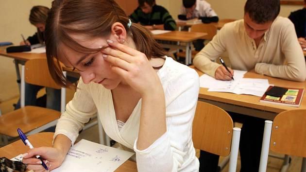 Ilustrační snímek ze šampionátu mladých matematiků v Ostravě