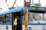 Obnovení provozu na jednokolejné trati, kde došlo k tragické srážce tramvají.