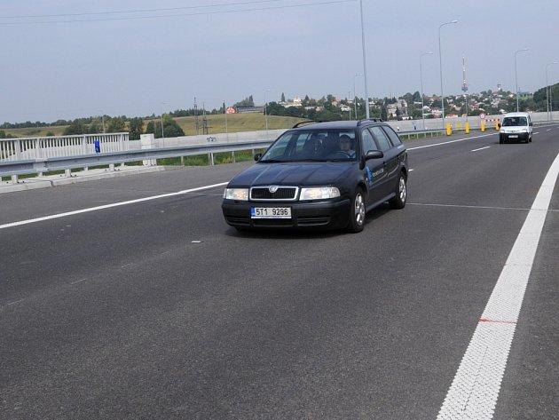 Hned tři nepříjemná zvlnění čekají na řidiče jedoucí po ostravském úseku dálnice D 47.