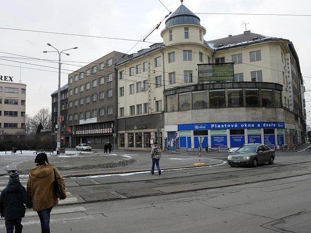 Hotel Palace v centru Ostravy