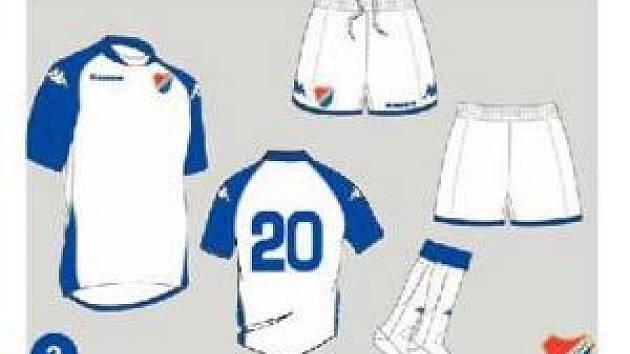 Jeden z návrhů na dres fotbalistů Baníku Ostrava