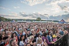 Hudební festival Štěrkovna Open Music 2017, 28. července 2017.