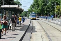Zelená osa Vítkovic. Její dnešní podoba - platanová alej táhnoucí se podél celé Ruské ulice až k Dolní oblasti Vítkovic. I v té se myslí na zeleň, vzniknout by tam měl například park pro volnočasové aktivity.