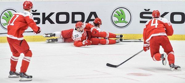 Dánsko se sice ujalo vedení, ale Bělorusko zápas otočilo.