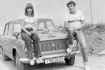 Jana Kusá, Metylovice, Termální lázně Podhajská, srpen 1981