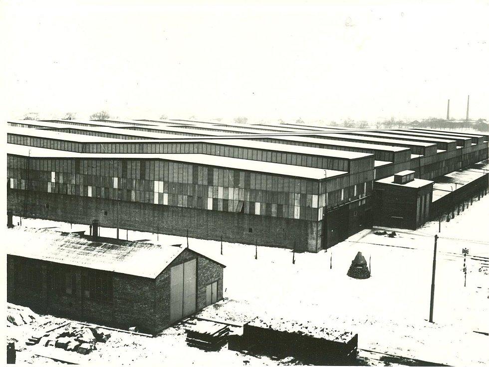 Jižní závod Vítkovických železáren v letech 1944 a 1945.