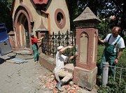 Kaplička svaté Alžběty v Husově sadu v centru Ostravy se dočkala opravy