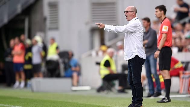 Utkání 2. kola první fotbalové ligy: MFK Karviná - Baník Ostrava, 22. července 2019 v Karviné. Na snímku trenér Baníku Ostrava Bohumil Páník.