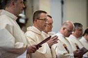 Biskupské svěcení 28. května v Ostravě. Na snímku Martin David.