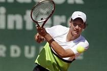 Osmnáctiletý ostravský tenista David Poljak.