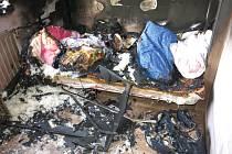 Tři jednotky hasičů zasahovaly v sobotu 6. února odpoledne v Novém Jičíně u požáru v dětském pokoji. Hořet začalo v bytě 4+kk na Máchově ulici v 15 hodin a 16 minut.