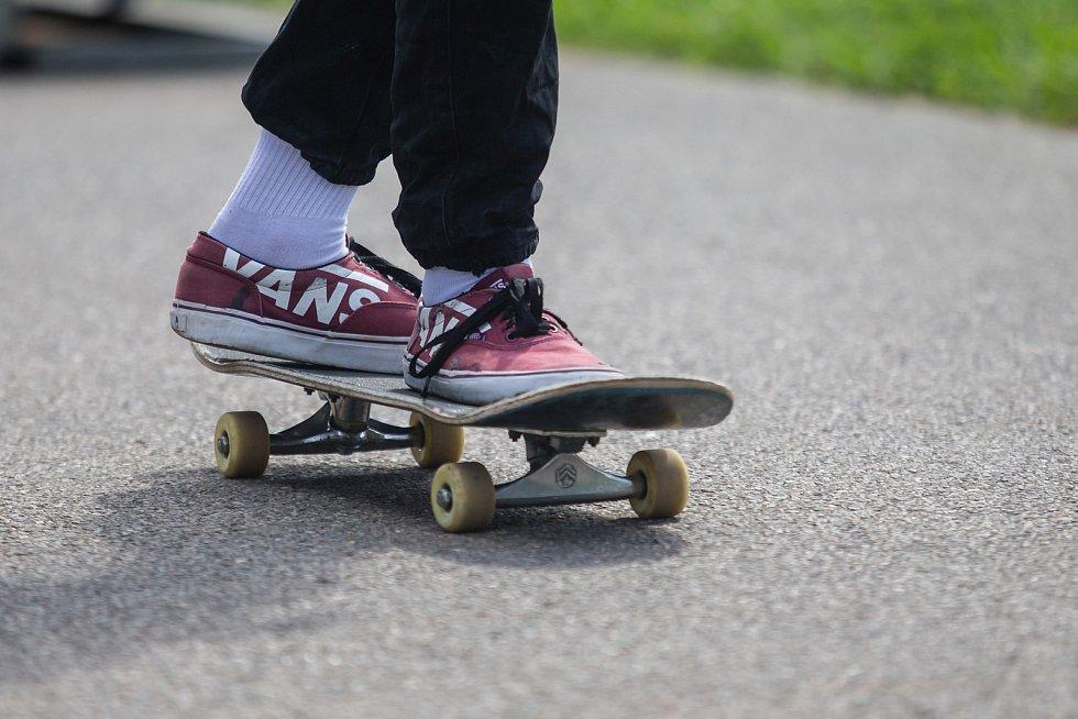 Skateboarding. Ilustrační snímky.