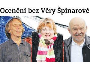 Věra Špinarová, Jaromír Nohavica, Karel Loprais