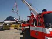 Letiště Ostrava v Mošnově má nové pomůcky k vyproštění letadel.