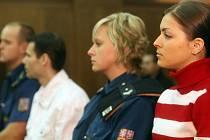 Na lavici obžalovaných usedla i devatenáctiletá žena z Ostravy, která se sama živila prostitucí.