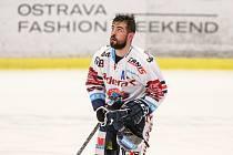 Utkání 47. kola hokejové extraligy: HC Vítkovice Ridera - HC Oceláři Třinec, 22. února 2019 v Ostravě. Na snímku Roman Szturc.
