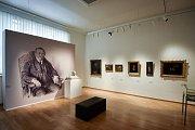 Snímek z výstavy Černá země? Mýtus a realita, která se konala v Galerii výtvarného umění Ostrava od 25. září 2018 do 6. ledna 2019.