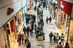 Obchodní centrum Avion Shopping Park v Ostravě v čase před koronavirovou pandemií. Ilustrační foto.