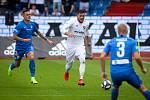 Utkání 1. kola první fotbalové ligy: FC Baník Ostrava - FC Slovan Liberec, 13. července 2019 v Ostravě. Na snímku (zleva) Roman Potočný, Patrizio Stronati.