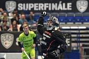 Superfinále play off florbalové superligy mužů: Technology florbal Mladá Boleslav - 1. SC TEMPISH Vítkovice, 14. dubna 2019 v Ostravě. Na snímku Souček Lukáš.