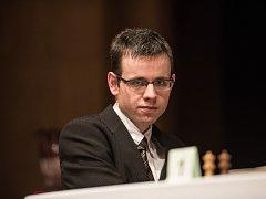 Ostravský koník, mezinárodní šachový festival v Ostravě. Na snímku David Navara.