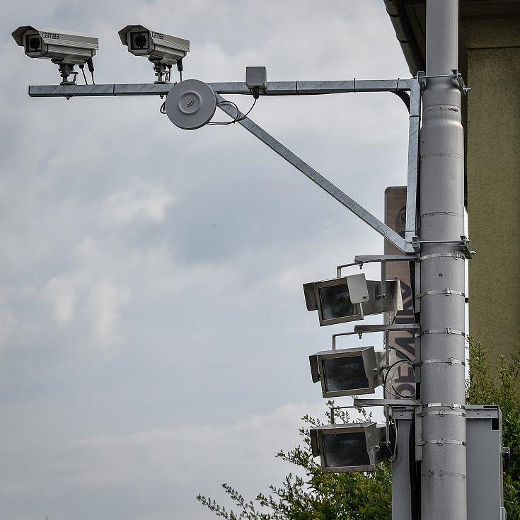 """Jen několik stovek metrů od Městského stadionu v Ostravě-Vítkovicích funguje radarová """"past"""" na řidiče. Nechali jste se nachytat?"""
