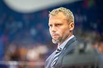Utkání 33. kola hokejové extraligy: HC Vítkovice Ridera - HC Oceláři Třinec, 17. září 2019 v Ostravě. Trenér Vítkovic Jakub Petr.