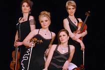 Hudební soubor Kapralova Quartet.