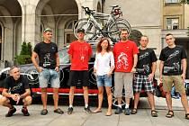 Ostravský tým Opel Handy Cyklo Maratonu 2014.