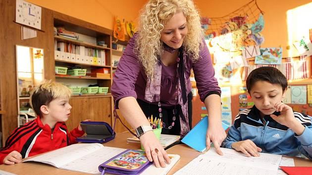 Děti se novému typu školního písma učí snáze a jde jim to mnohem rychleji.
