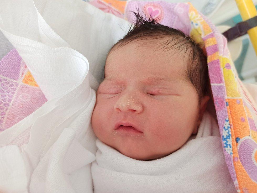 Kinga Jochymek, Bukovec, narozen 10. května 2021, míra 50 cm, váha 3660 g  Foto: Gabriela Hýblová
