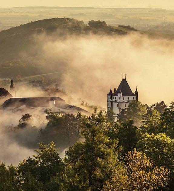 Bezručova vyhlídka, Hradec nad Moravicí, snímek Jan Langer.