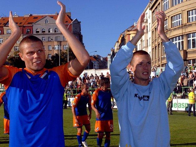 Václav Svěrkoš (na snímku vpravo)