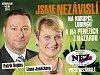 NEZÁVISLÍ v Ostravě rozdávají voličům štěstí