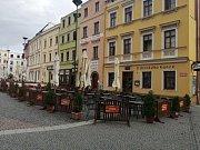 Dolní náměstí v Opavě. Ilustrační foto.