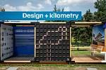 Výstava Design + kilometry u nádraží Ostrava-Střed, 10. června 2019 v Ostravě.