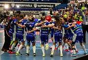 Superfinále extraligy žen mezi Vítkovicemi a Chodovemradost, výhra v superfinále