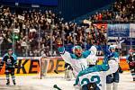 Ostravské hokejové derby - duel týmů Ostravské univerzity a Vysoké školy báňské –Technické univerzity Ostrava, 30. října 2019 v Ostravar Aréně.