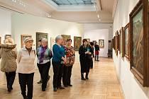 Výstavu děl Bohumila Kubišty zhlédlo na třiadvacet tisíc lidí.
