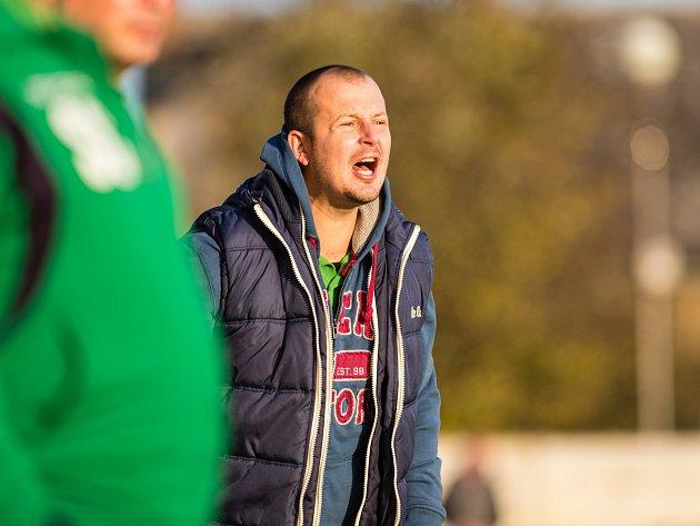 Jeden z trenérů petřkovického týmu Filip Smékal.
