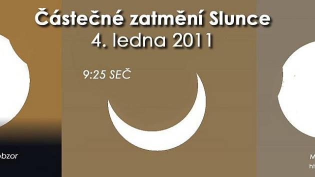 Takto bude probíhat úterní zatmění Slunce.