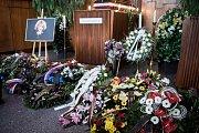 Pohřeb Věry Špinarové v Ostravě.