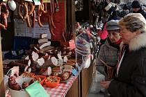 Vánoční trhy na Masarykově náměstí v Ostravě už brzy skončí.