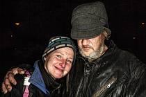 Ilustrační foto. Portrét dvou bezdomovců vznikl v roce 2018 ve Dvoře Králové.